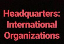 Headquarters International Organizations