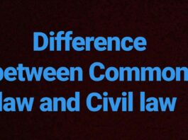 Civil and Common Law