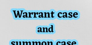 Difference between procedure of trial for Warrant Case and Summon Case