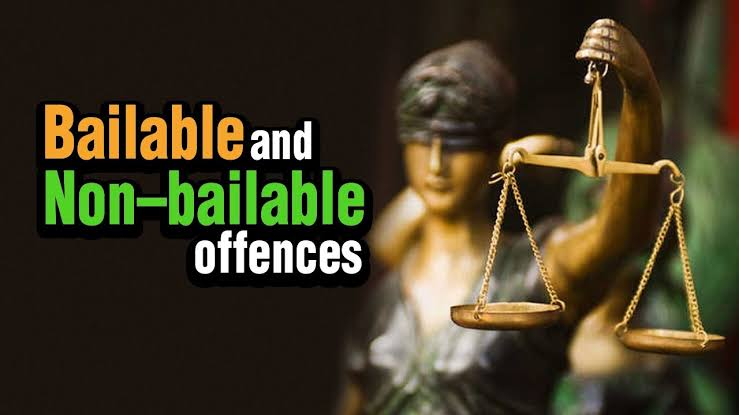 Distinction between Bailable and non-bailable