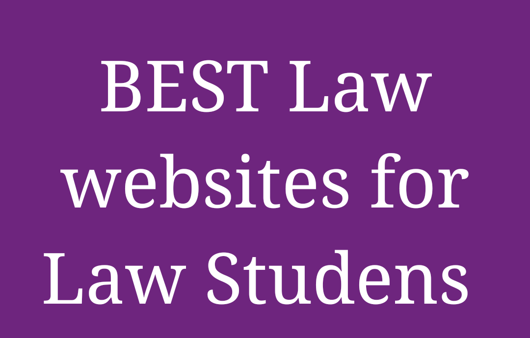 Important Law websites for law students and Lawyers