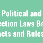Political and Election Laws Bare Acts and Rules