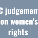 15 SC judgements that changed the women position in India