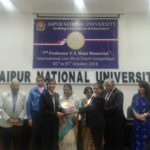 Jamunlal Bajaj School of Legal Studies, Banasthali University wins the 7th Edition of Prof VS Mani Memorial International Law Moot Competition. (Press Release)