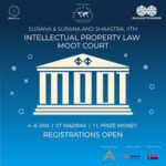 Shaastra 2019: IP Law Moot Court Competition @ IIT, Madras [Jan 4-6, Prizes Worth Rs. 1 L]: Register by Nov 23