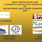 """9th National Moot Court Competition"" 2019 Geeta Institute of Law(GIL), Panipat, Delhi NCR: Deadline for Reg.: 1st Jan. 2019"