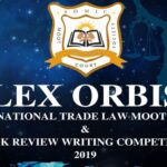 SDM Law College's Lex Orbis International Trade Law Moot & Book Review Competition 2019
