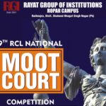 National Moot Court and Client Counselling Competition @ Rayat College of Law, Ropar [March 30-31]: Last Date 15 March