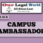 List of Campus Ambassador- Our Legal World August 2019- April 2020