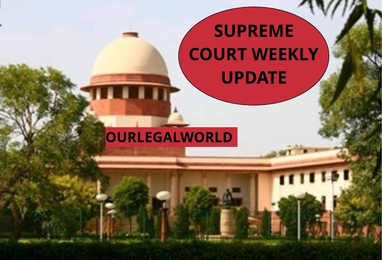 Supreme Court Judgement Our Legal World