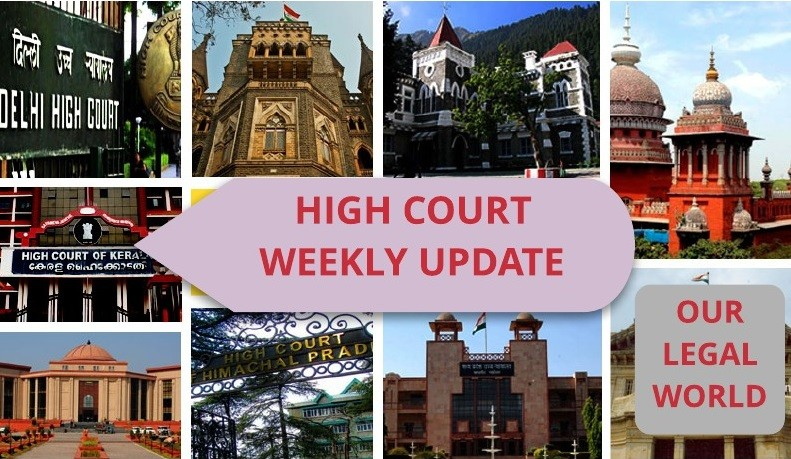 Important Judgment of High Court March 2018