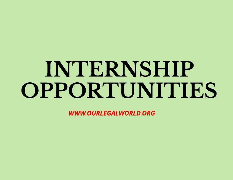 Internship: Internship Programme At DGFT 2019