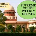Supreme Court Weekly Update 22-28 April 2019