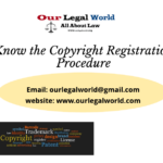 Know the Copyright Registration Procedure- Our Legal World