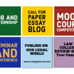 Submitting a post (opportunity/event or internship experience on Our Legal World