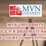 Justice P N Bhagwati National Moot Court Competition @ MVN University, Palwal, Haryana [Oct 11-12]: Register by Sep 26