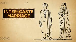 Inter caste marriages still act as a stigma in the Indian Society