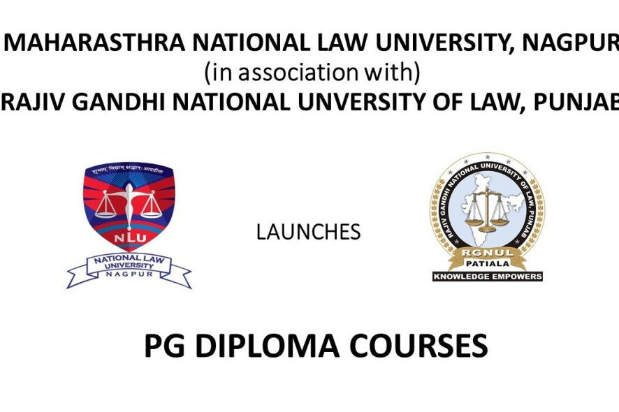 PG Diploma Courses, Maharashta National Law University, Nagpur: Last Date 27th August