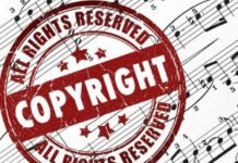 Copyright License for Playing Music, Songs in marriage