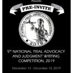 Pre Invite: 5th National Trial Advocacy and Judgment Writing Competition, School of Law, Christ [Dec 13-15, Bangalore]: Register by Oct 30
