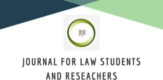 JLSR Journal for Law Students and Researchers[E-Journal]: Submissions on Rolling Basis