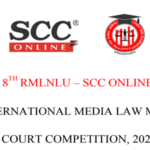 8th RMLNLU SCC Online International Media Law Moot Court Competition