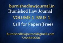 Burnished Law Journal Our Legal World