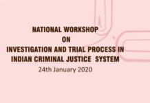 Criminal Investigation Workshop