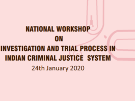 Criminal Investigation Workshop
