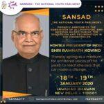 Sansad National Youth Parliament: Jan 18 & 19, 2020 [Delhi]