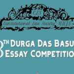 8th DD Basu Essay Writing Competition At NUJS, Kolkata: Submit by Jan 25