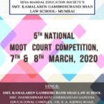 K. G. Shah Law School 5th National Moot Court Competition 2020: Register by Feb 23