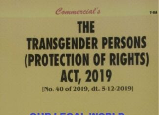 Supreme Court issue notice against the petition challenging the Transgender Persons Act 2019
