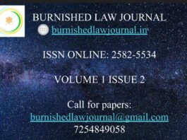 Call for paper: Burnished Law Journal: submit by June 10