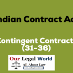 Contingent Contract under Indian Contract Act- Our Legal World