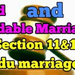 Void and Voidable Marriage under Hindu Marriage Act, 1955