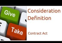 Consideration: Meaning, Definition and Essential Elements- Contract Act 1872