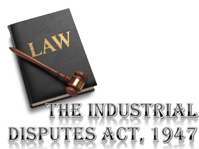 Provision of Strikes and Lockouts under Industrial Disputes Act, 1947