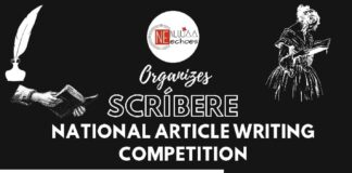 SCRIBERE - National Article Writing Competition by Nluja Echoes