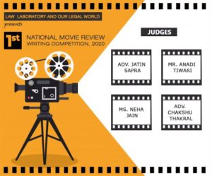 Result: Our Legal World NATIONAL MOVIE REVIEW WRITING COMPETITION, 2020