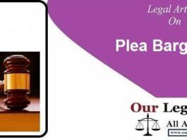 Plea Bargaining under CrPC judiciary notes