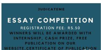 JudicateMe Essay Competition 2020