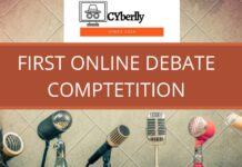 1ST ONLINE DEBATE COMPTETITION BY CYBERLLY: REGISTER BY 15TH JUNE, 2020!!