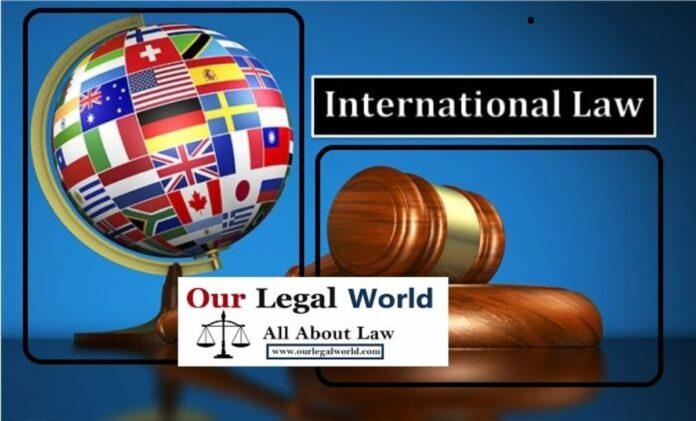 DEFINITION OF INTERNATIONAL LAW