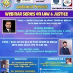 Webinar Session on Law & Litigation on a Post COVID-19 World