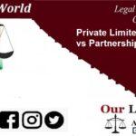 Private Limited Company vs Partnership