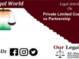 Private Limited Company vs Partnership, Company Act 2013, Partnership Act 1932