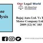 Bajaj Auto Ltd. Vs T.V.S. Motor Company Ltd JT 2009 (12) SC 103