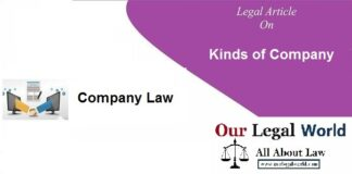 Kinds of Company under Companies Act 2013