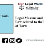 Legal Maxims related to the Law of Torts